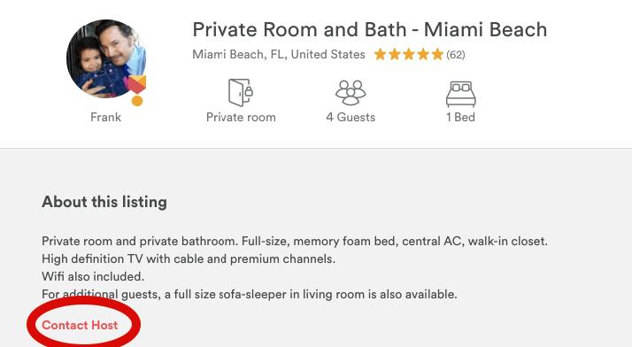 airbnbcontacthost